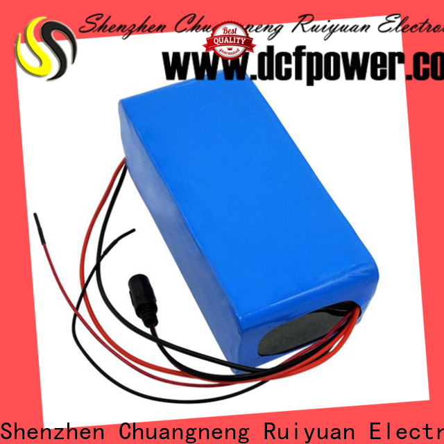 dcfpower Best pack of batteries manufacturers for electric vehicles