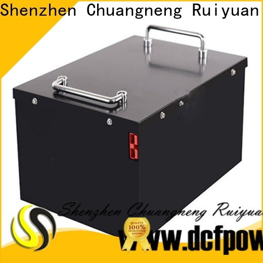 dcfpower Wholesale ev lithium battery pack factory for caravan/campers