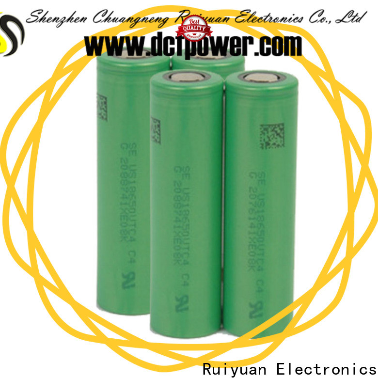 dcfpower New lithium battery cell sizes factory for Portable equipment