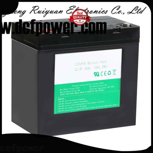 dcfpower lifepo4 car battery for business for electric forklift