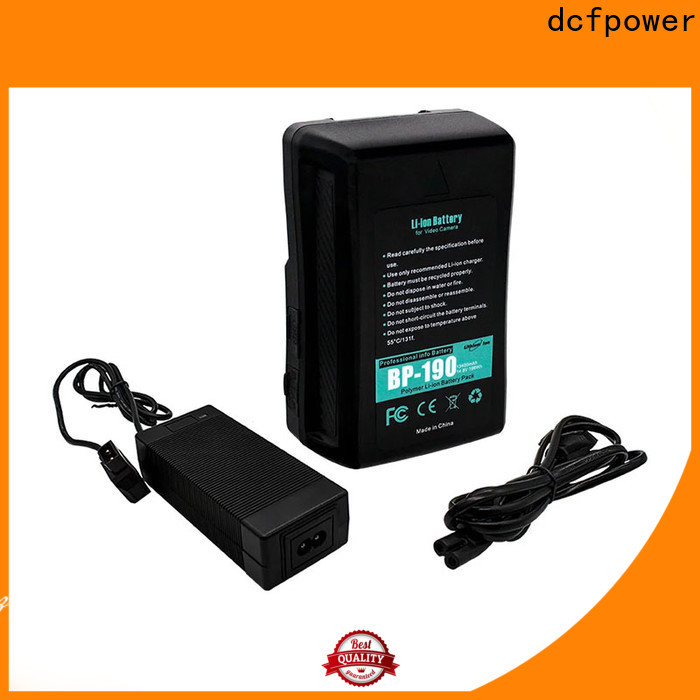 dcfpower v lock battery kit for business for led Adapter