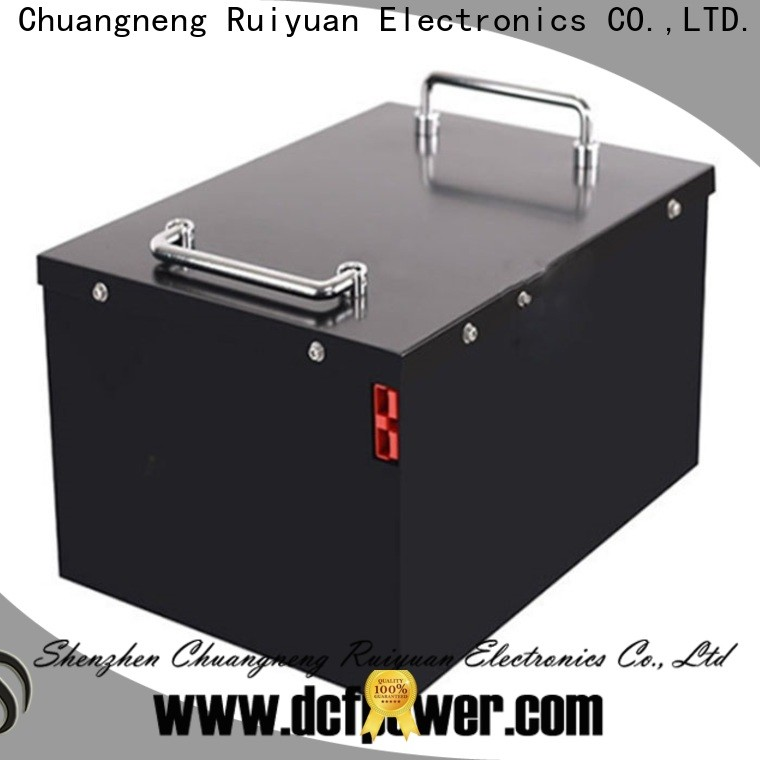 dcfpower lifepo4 battery vs li ion Supply for caravan/campers