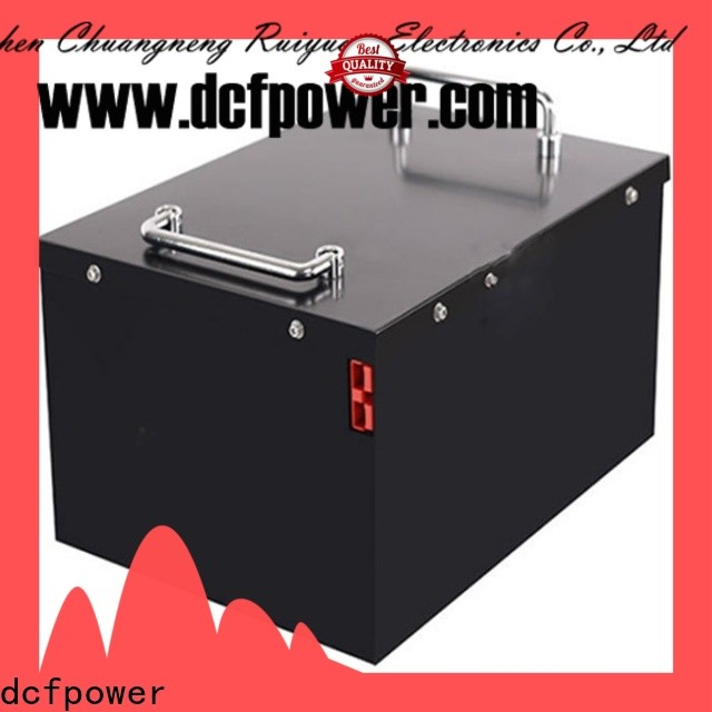 dcfpower Latest lithium iron phosphate rechargeable battery for business for electric scooters