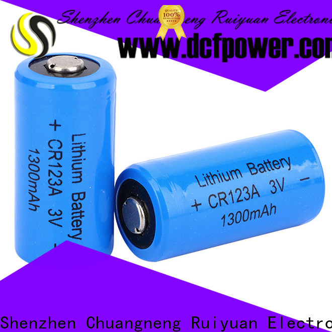 dcfpower High-quality 4 cell battery factory for Illuminate Devices